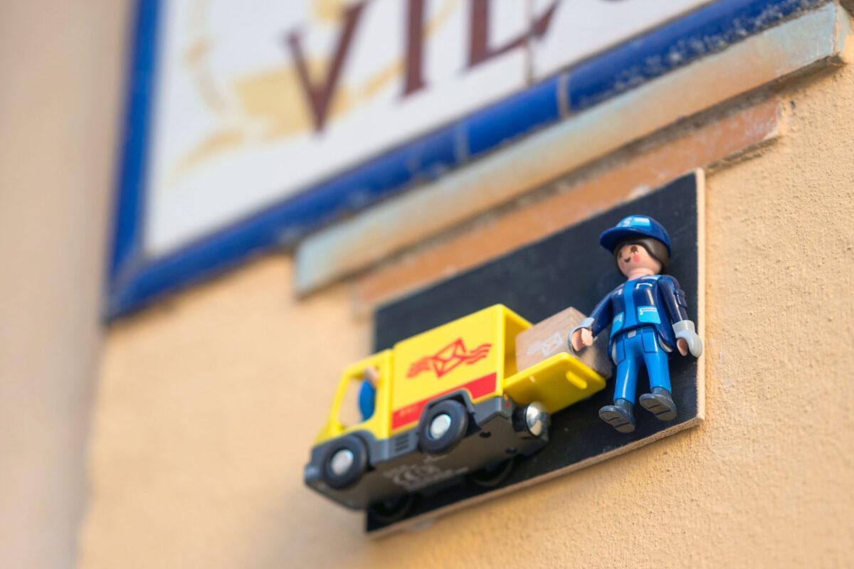 Postal Car Playmobil