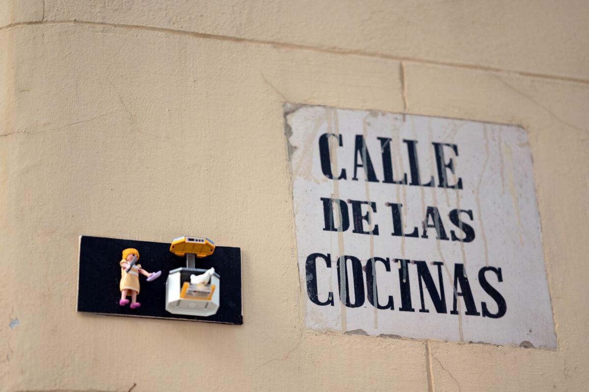 Calle de las Cocinas Valencia Playmobil