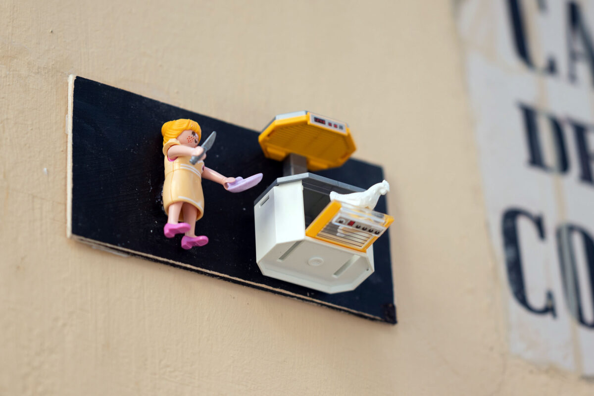Cooking Chicken Playmobil