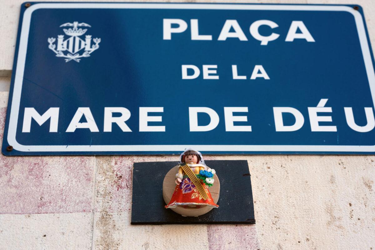 Plaza de la Virgen Valencia Playmobil