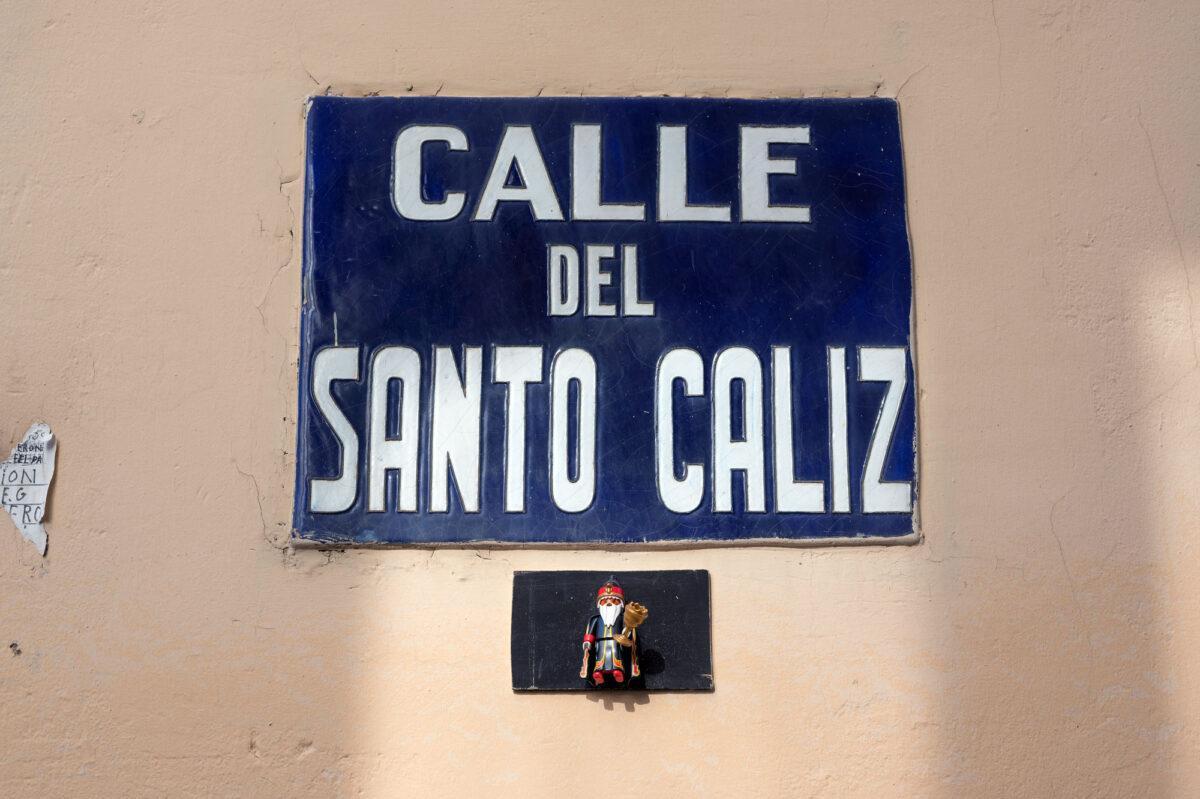 Calle del Santo Caliz