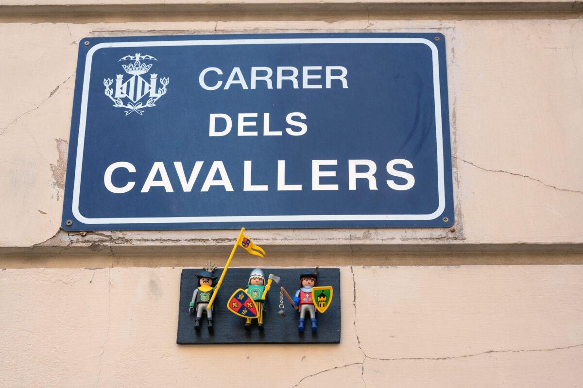 Calle Caballeros Valencia Playmobil