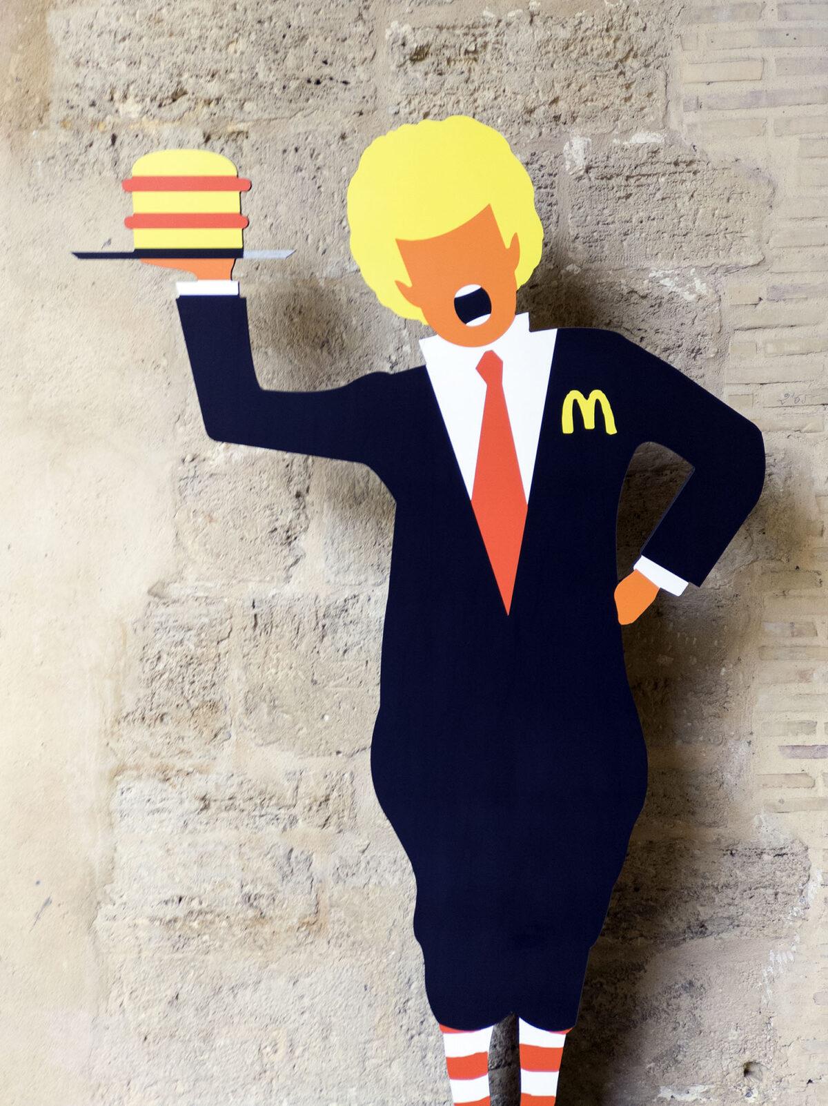 Donald Trump As Ronald Mc Donald
