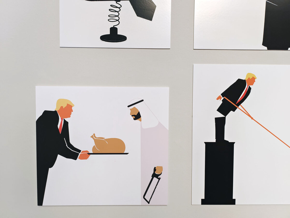 Trump Arabic Thanks Giving