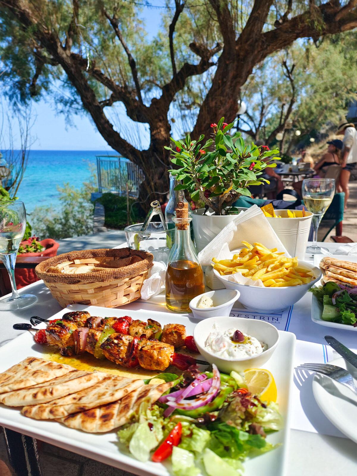 Zakynthos Greek Food